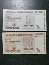 2008 (May,15)Zimbabwe Agro-Cheques,unc,used