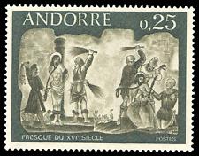 French Andorra #185 MNH CV$1.50 Christ