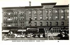 RPPC,Olean,New Yok,Olean House,133No.Union St.Old Cars,Cattaraugus Co.c.1940s