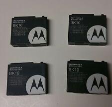 Lot of 4 Used Motorola BK10 Battery Brute i335 i680 Renegade ic502 RIZR ic402