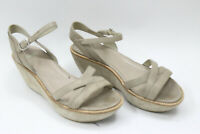 CAMPER women shoes sz 6.5 Europe 37 beige  leather S7562