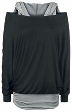 Black Premium by EMP Get Loose Frauen Langarmshirt schwarz/grau