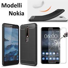 ️ Nokia Carbon Fiber Design Case Cc-802 Cover Nero