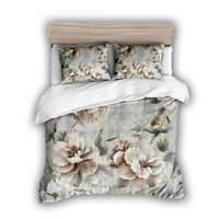 Great Flower Elves 3D Quilt Duvet Doona Cover Set Single Double Queen King Print