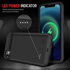 Rechargeable Battery Charger Case For iPhone 6 7 8 Plus X XR Xs 11 12 [6000mAh]