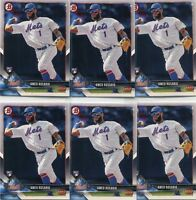 LOT (8) 2018 BOWMAN RC AMED ROSARIO NEW YORK METS ROOKIE - 318