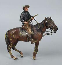 "Rare Franz Bergman Bronze ""Cowboy on Horse"" WorldWide"