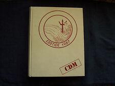 1987 yearbook Corona Del Mar High School in Newport Beach, California, Sea KIngs