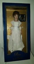 Franklin Mint Titanic Rose Portrait Vinyl Doll in Heaven Dress Ensemble.