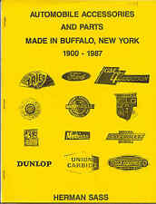 Automobile Accessories & Parts made in Buffalo, New York by Herman Sass