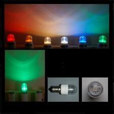 LED 0,6W E14 klar grün farbig Lampe Kühlschrank Signal