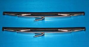 Lancia Appia Fulvia Flavia Wiper Blades Genuine TEX. NEW (Pair)