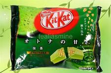 Japanese Kit Kat Matcha Green Tea Nestle Mini 12-Bars Pkg. 5.04 Oz. USA Seller