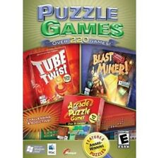 Puzzle Games (Windows/Mac, 2008) Over 220 Games - Brand New