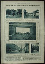 Peking Chang Hsun Guarding Imperial Palace Hsuan Tung 1917 1 Page Photo Article