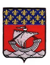 Toppe Toppa PATCH stemma blasone Bandiera  francia PARIS  ricamata