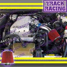 88 89 90 91 92-94 CHEVY CAVALIER Z24 2.8L 3.1 3.1L V6 AIR INTAKE KIT Blue Red