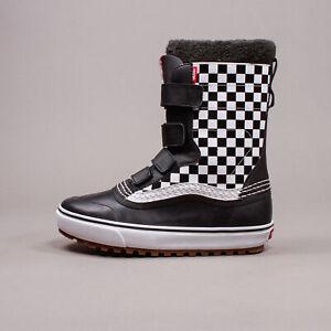 Vans Standard V Snow Boot MTE Checkerboard Black Men New Warm VN0A4BIWP53