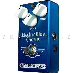 Mad Professor - Electric Blue Chorus - PCB Effects Pedal - NEW!
