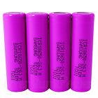 Samsung Li-ion 18650 batteries ICR18650-26J M rechargeable 3.6V-3.7V 2500mAh