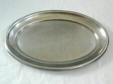 Stainless Steel Heavy Dish Plater Oval Shape