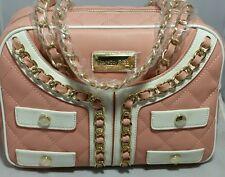 NWOT $175 Pink Leather Satchel Thursday Friday Bag