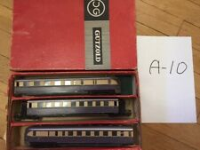 set_A_10: old DDR piko gutzold triebwagen vt 137, 3 cars, boxed