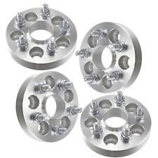 4x 25mm Hubcentric Wheel Spacers Fits VW Beetle Golf Jetta Passat Audi TT 5x100