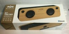 House of Marley Get Together Bluetooth Portable Audio System Speaker ~ Bamboo