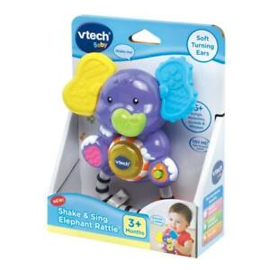 VTech Baby Shake and Sing Elephant Rattle BRAND NEW