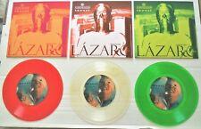 "David Bowie LTD 2016 Mexican 7"" Singles Lazarus/My Death Clear/Green & Red Vinyl"