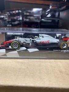 Formula 1 HAAS team vf-18 R. Grosjean 2018 minichamps scale 1/43 new