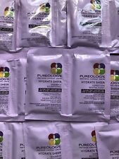 Pureology HYDRATE SHEER shampoo and Conditioner duo packets X10 20 Total