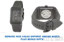 New 28 Jewel Automatic Emporio Armani AR4238 Meccanico Watch-$445 Val!+$58 BONUS