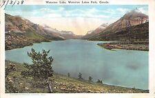 B5242 Rocky Mountains Waterton Lake