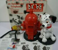 Vintage Disney 101 Dalmations Barking Telephone NEW box open for pictures