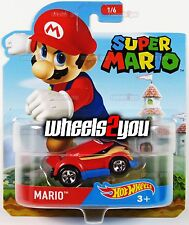 MARIO - Hot Wheels SUPER MARIO Character Cars