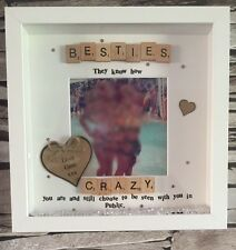 Personalised Bestie/friend Photo Frame Perfect Gift