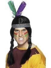 Indian Feathered Headband Adult Unisex Smiffys Fancy Dress Costume Accessory