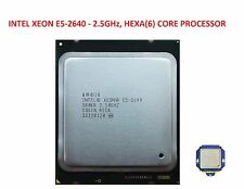 Intel Xeon E5-2640 2.5Ghz Hex CORE PROCESSOR - SR0KR