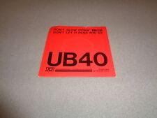 "UB40 - Don't Slow Down - DEP International 7"" Vinyl 45 UK - 1981 - NM-"