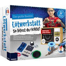 FRANZIS Der kleine Hacker: Die große Baubox Lötwerkstatt, Radio-Bausatz