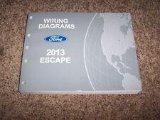 2013 Ford Escape Electrical Wiring Diagram Manual S SE SEL Titanium 1.6L 2.5L