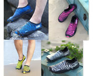 Women's Men's Water Shoes Aqua Yoga Exercise Pool Beach Dance Swim Slip On Surf
