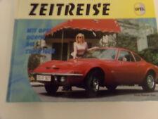 Zeitreise  Mit Opel durch die 60er * Opel GT * Kapitän * Admiral * Kadett A/B