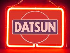 Datsun Car Racing F1 Hub Bar Shop Advertising Neon Sign