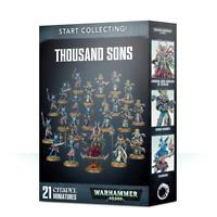 Thousand Sons Start Collecting 40K Warhammer NIB