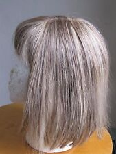 100% Human Hair Blond With Highlights Wig Size S