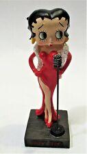 Betty Boop Cabaret Singer 14cm Hachette (in blister verpakking)