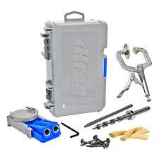 Kreg R3 Jr Pocket Hole Jig Joinery System Kit + 2-Inch Face Clamp